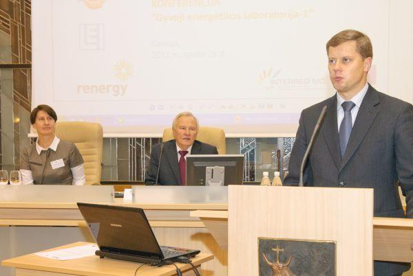 Pasak Kauno miesto mero Andriaus Kupčinsko, dabar ypač aktualu efektyviai vartoti energiją. Ričardo Šaknio nuotr.