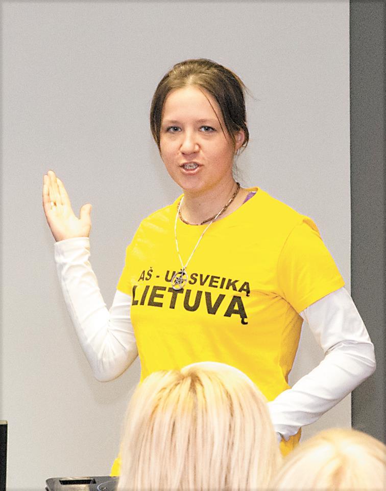 Sigita Kriaučiūnienė. Asm. albumo nuotr.