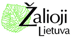Zalioji Lietuva logo