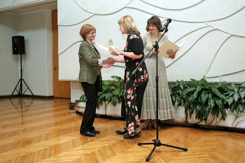 """Gražina Sventickienė – """"Lietuvos kraštovaizdžio"""" nominacijos laureatė"""