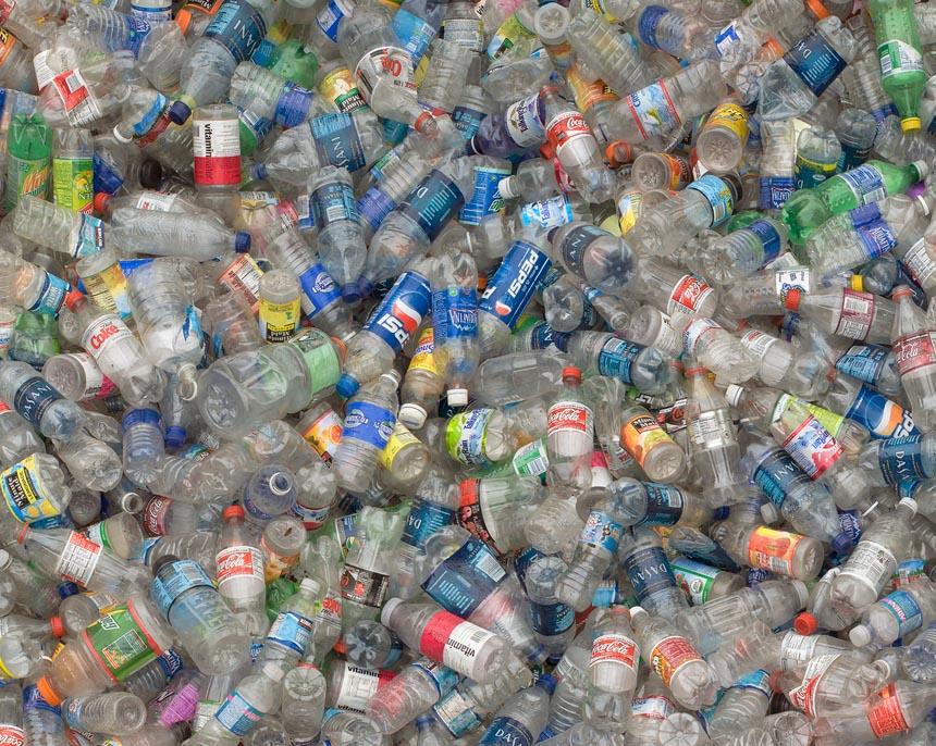 plastikiniai buteliai, plastikas