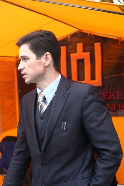 Tautininkų sąjungos atstovas Andrius Šimas. Ekspertai.eu nuotr.